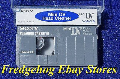 A Sony Mini Dv Camcorder Dry Type Head Cleaning Tape / Cassette - Dvm4Cld