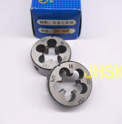 "1pcs HSS Right Hand Die 2/"" 16UN Dies Threading 2-16UN"