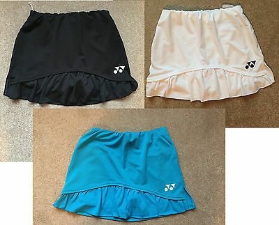 Yonex Womens Skirt Skort Small Asian Range Black White