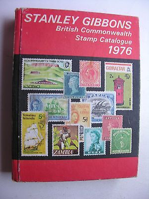1976 STANLEY GIBBONS BRITISH COMMONWEALTH POSTAGE STAMP CATALOGUE 78th Edition