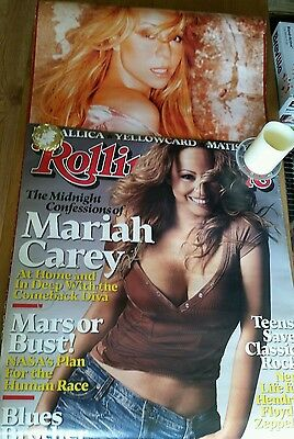 Mariah Carey Autographed Posters