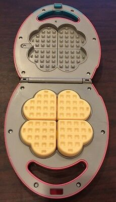 My First Kenmore Waffle Maker Toy Play Food Pretend Play Cooking