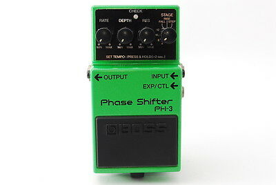 BOSS PH-3 Phase Shifter Guitar Effect Pedal From Japan PH3