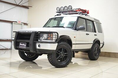 2003 Land Rover Discovery SE Sport Utility 4-Door LAND ROVER DISCOVERY LIFTED 4WD SAFARI PKG TOW BASKET SUNROOF