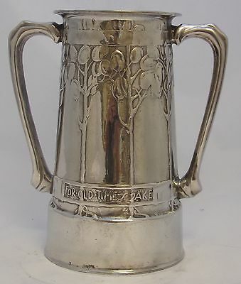 Very Fine & Early Liberty & Co Tudric Loving Cup By David Veasey 010