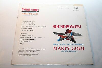 Marty Gold - Soundpower - LP RCA