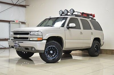 2005 Chevrolet Tahoe  CHEVROLET TAHOE Z71 4X4 LIFTED NAVI  BLK RIMS TOW SUNRF TV/DVD 3RD ROW