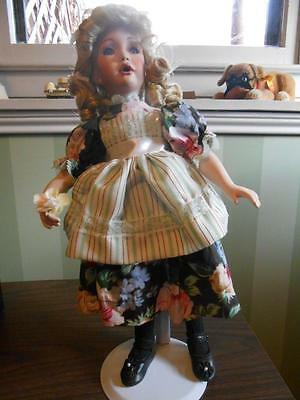 """Paradise Galleries """"mary, Mary"""" Porcelain Doll - New In Box # 595 A"""