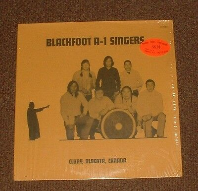 BLACKFOOT A-1 SINGERS self titled 1975 US CANYON STEREO NATIVE AMERICAN VINYL LP