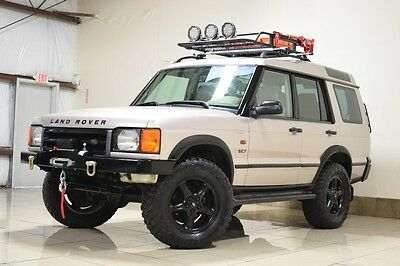 2001 Land Rover Discovery  LAND ROVER DISCOVERY 2 SE7 SERIES II LIFTED ONE OWNER LED LIGHTS WINCH  3RD ROW