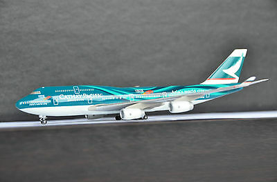 HERPA 1/400 CATHAY PACIFIC BOEING 747-400 Asia's World City Livery