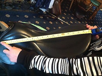 Ideal Black GP Riding Saddle 17.5 In, Tack,Equestrian,Horse Riding