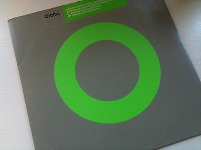 "Orbital - Nothing Left - Sought After 99 House Trance - 12"" Vinyl Record Dj"
