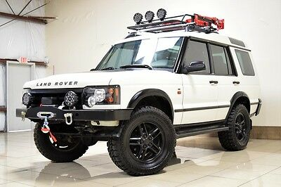2004 Land Rover Discovery SE Sport Utility 4-Door CUSTOM LAND ROVER DISCOVERY 2 LIFTED ONE OWNER WINCH DUAL SUNROOF ROOF RACK !!!!
