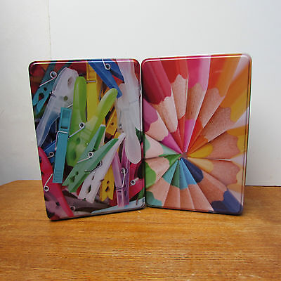 Collectacble Colourfull Stroage Tins New