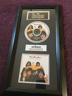 Beatles superb yellow submarine cd/print collectable