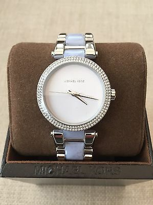 Ladies Michael Kors Delray Stainless Steel Watch BNIB RRP £259