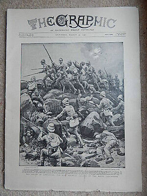 Boer War - Original Copy Of The Graphic - March 31St 1900