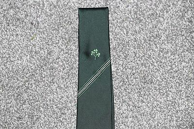 Vintage Ireland Rugby Union Tie - made by Millano of Ireland