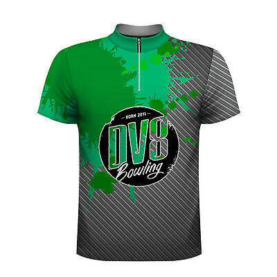 "DV8 ""Splash"" Bowling Jersey Officially Licensed"