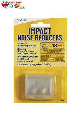AcuLife Premium Music Ear Plugs FAST Ship UK BUY NOW Top Quality BEST Deal