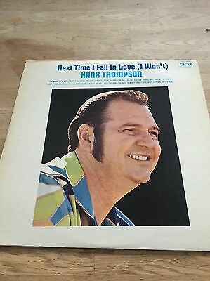 Hank Thompson - Next Time I Fall In Love Record