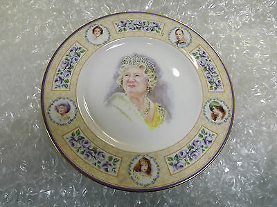 Royal Doulton 2002 tribute plate to the Queen Mother Limited Edition