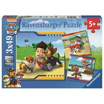 Ravensburger 3 x 49 Teile Puzzle Helden mit Fell | Kinder Puzzle ab 5 Jahre