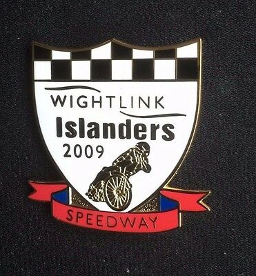 Speedway badge Isle of Wight 2009