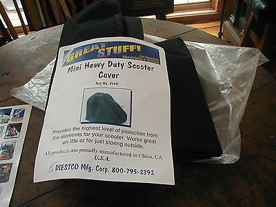 Diestco Waterproof Mini Heavy Duty Power Scooter Cover, Never Used, Estate find