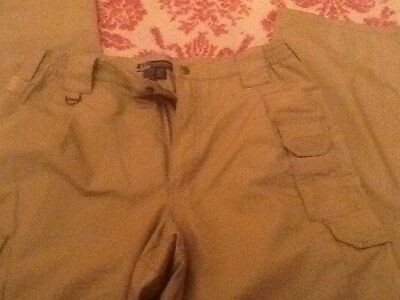 5.11 tactical trousers 34/34 coyote zip off