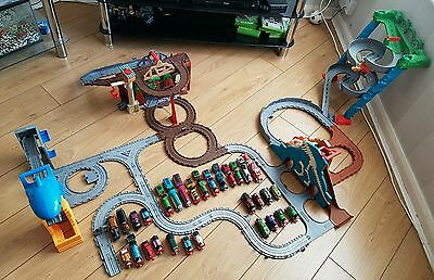 Thomas the tank engine - Take N Play sets and trains