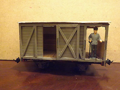 Unknown Make ..a Gauge 1 Guards Van With Guard..unboxed...