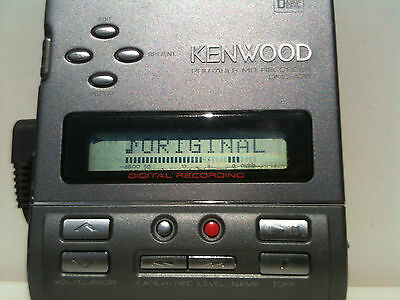 Kenwood DMC-A7R MiniDisc Player / Recorder portable MD Optical in/out