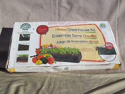 Planters Pride RZH10200 Deluxe Heated Greenhouse Kit, Seed Starter, Gardening