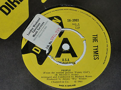 The Tymes. People. Direction 58-3903 (Brilliant Tracks).