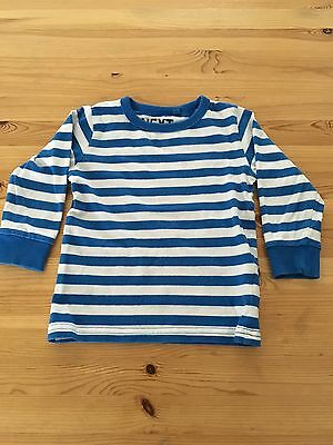 Baby Boys Next Stripe Long Sleeve Top Size 12-18 Months