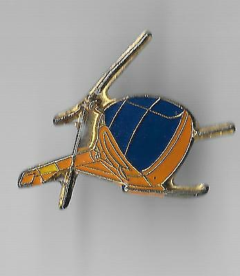 Vintage TH-55A Osage Helicoptor Aircraft old enamel pin