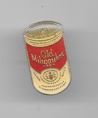 Vintage Old Milwaukee Beer Can red label old enamel pin