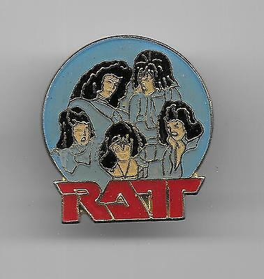 Vintage Ratt Music Group old enamel pin