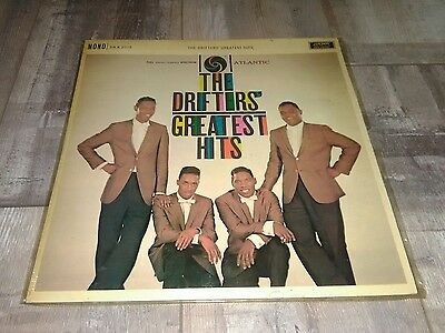 The Drifters/Greatest Hits/1960 Atlantic LP/EX-