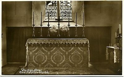 The High Altar, EAST HARPTREE Church, Somerset RP