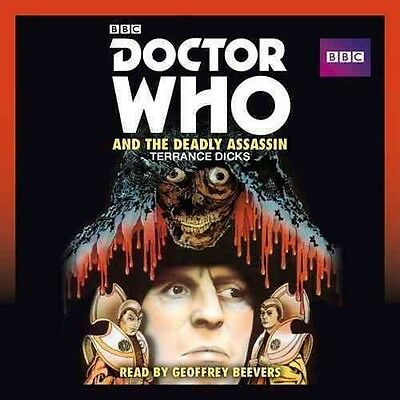 Doctor Who and the Deadly Assassin by Terrance Dicks Compact Disc Book