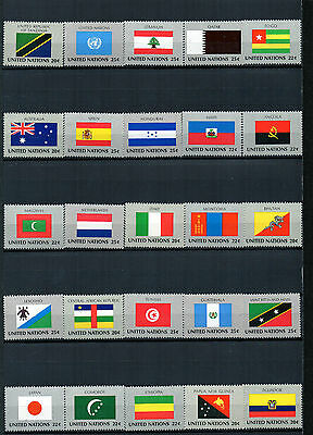 timbres des Nations- Unies. Neufs**