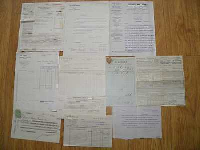 JOB LOT VINTAGE OLD FRENCH DOCUMENTS No 7