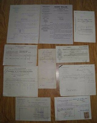 JOB LOT VINTAGE OLD FRENCH DOCUMENTS No 6