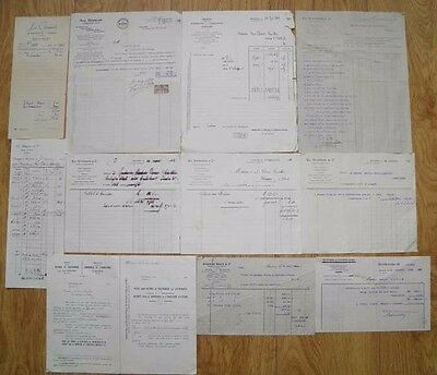 JOB LOT VINTAGE OLD FRENCH DOCUMENTS No 5