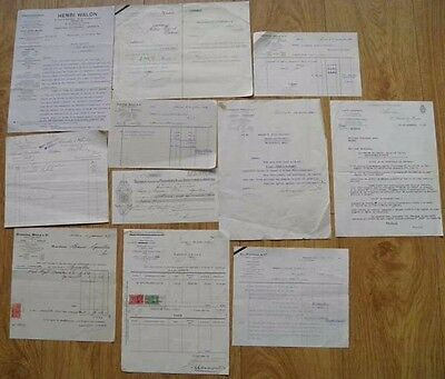 JOB LOT VINTAGE OLD FRENCH DOCUMENTS No 3