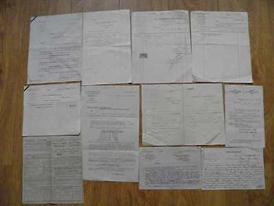 JOB LOT VINTAGE OLD FRENCH DOCUMENTS No 2