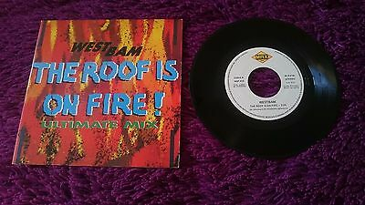 """Westbam – The Roof Is On Fire! ,  Vinyl, 7"""", 1990 , Spain , MSP-412 , PROMO"""